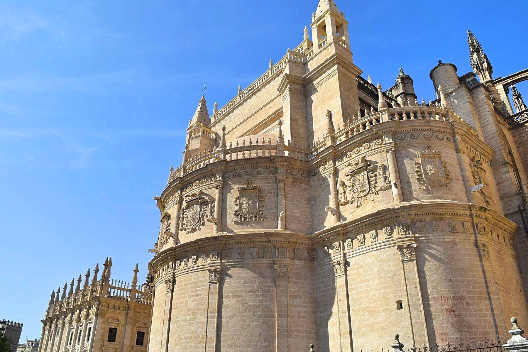Kathedraal Sevilla Spanje