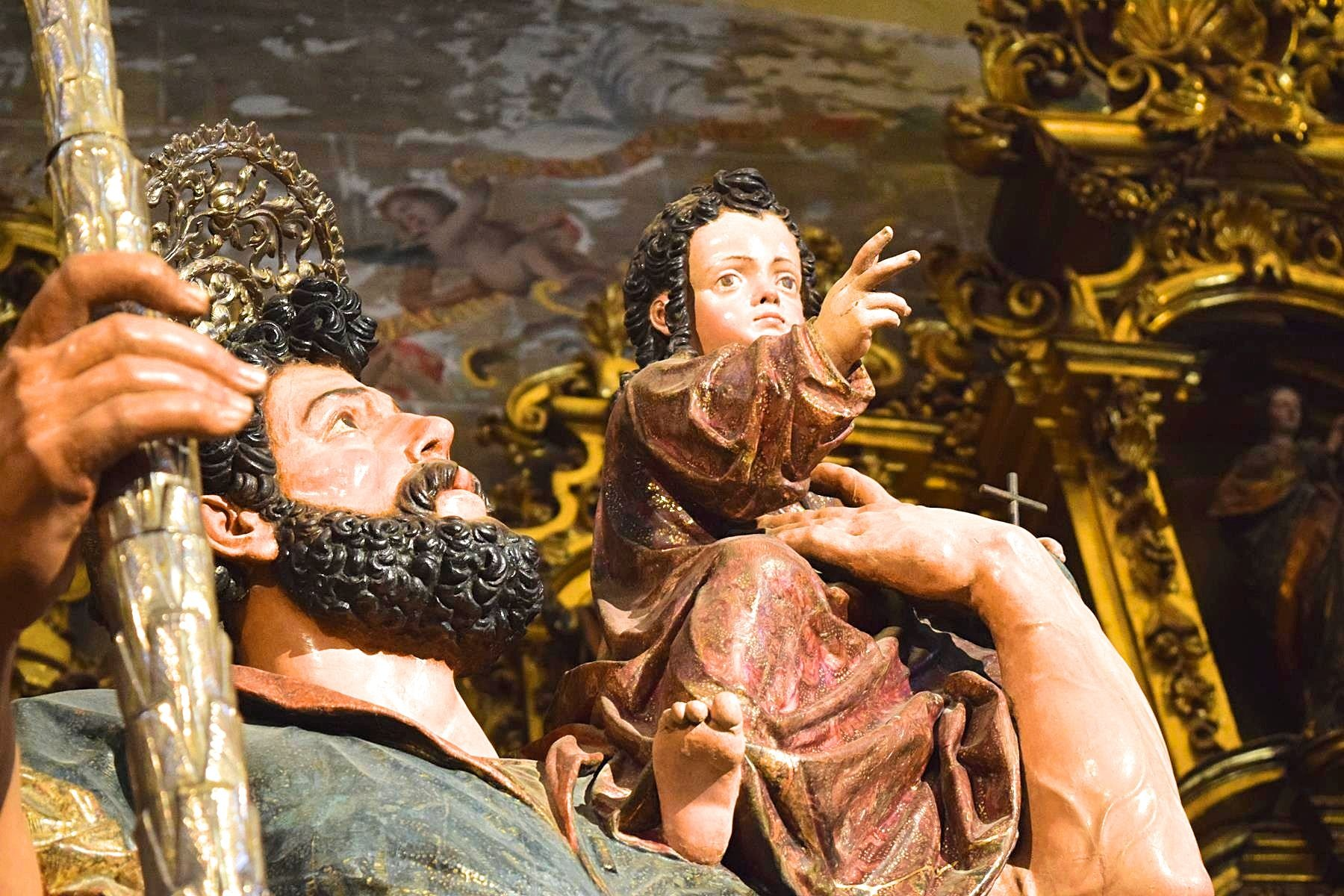 Kerk Iglesia Salvador Sevilla