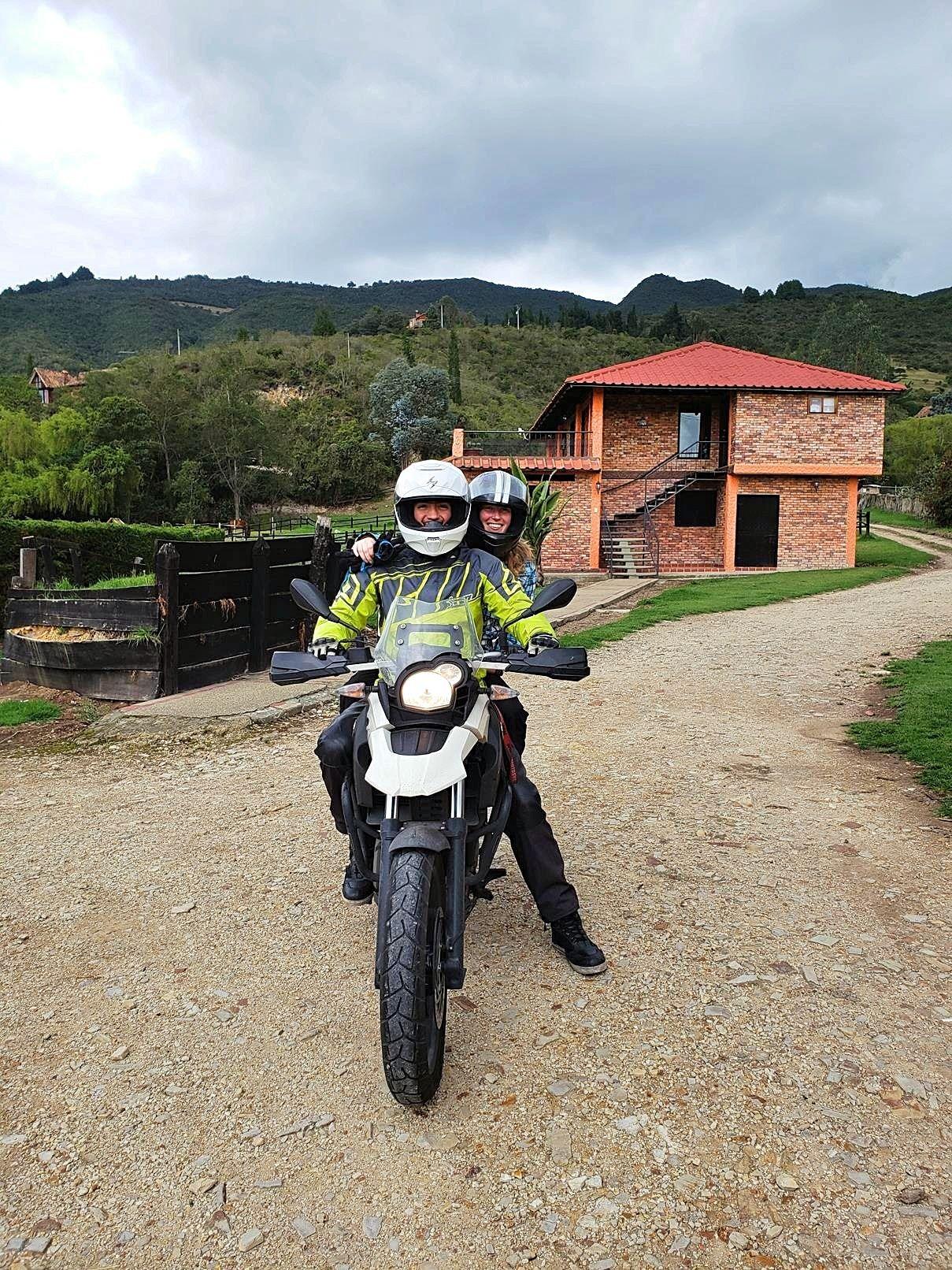 Motorrijden Colombia