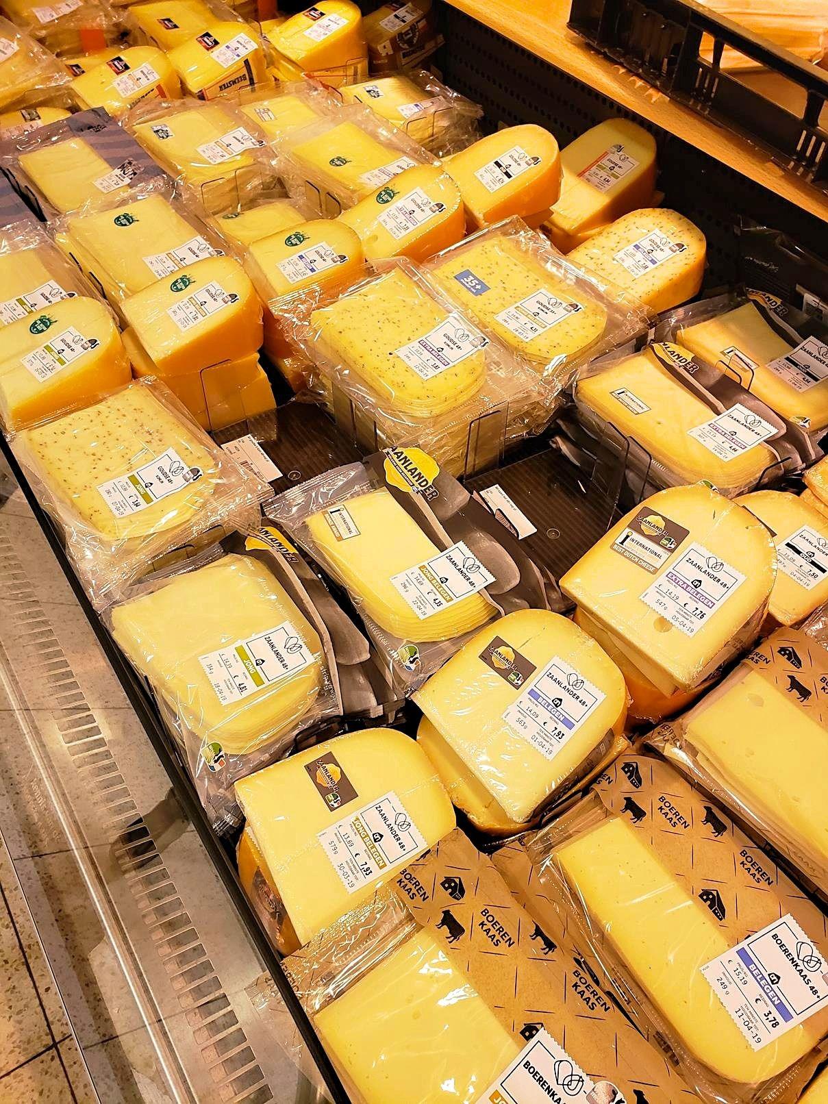 Naar de supermarkt in Nederland
