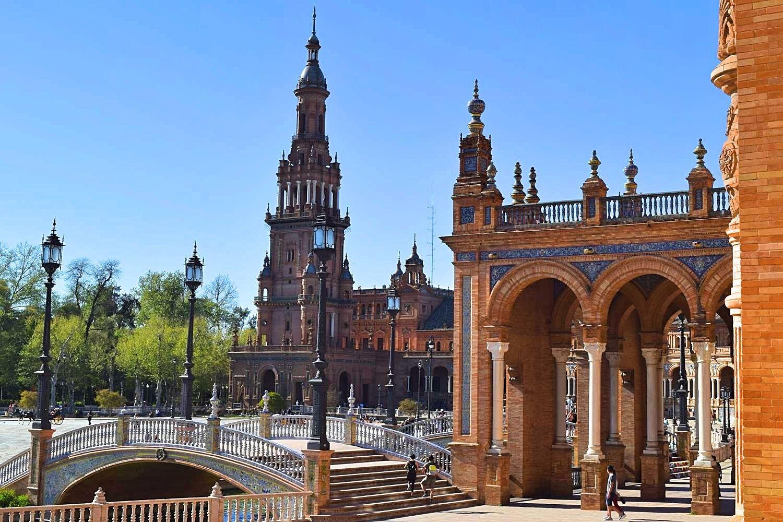 Plaza de España stedentrip Sevilla