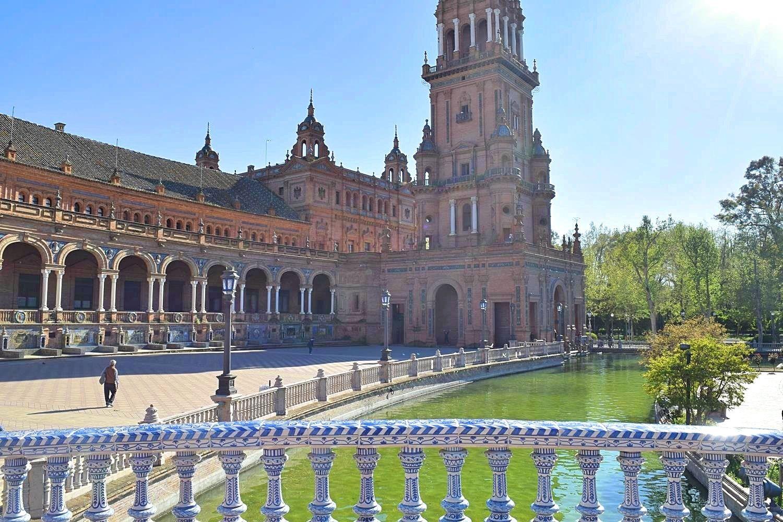 Mooiste plein ter wereld Sevilla