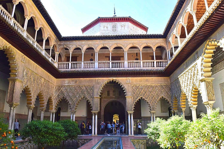 Real Alcazar paleis Sevilla Spanje