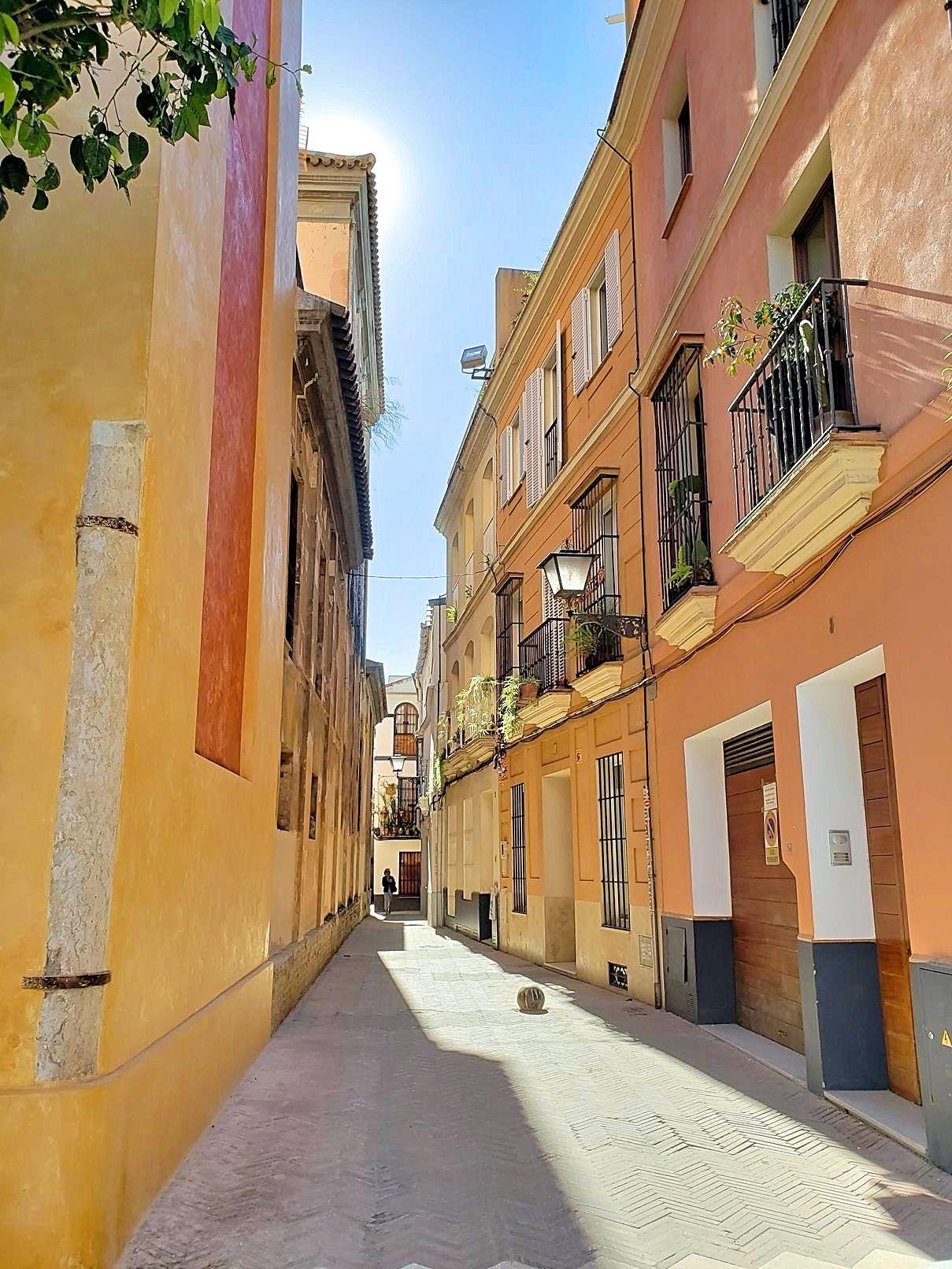 Stedentrip Sevilla straatje