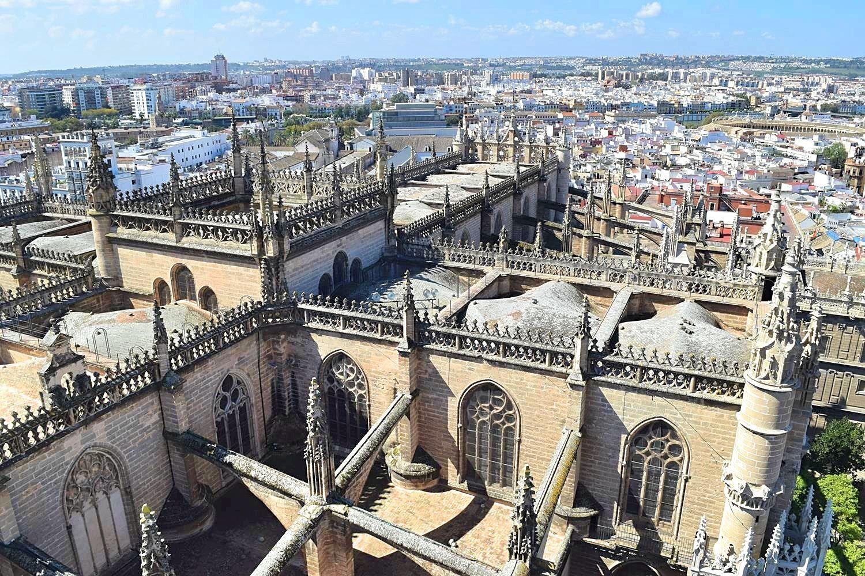 Toren Giralda kathedraal Sevilla Spanje