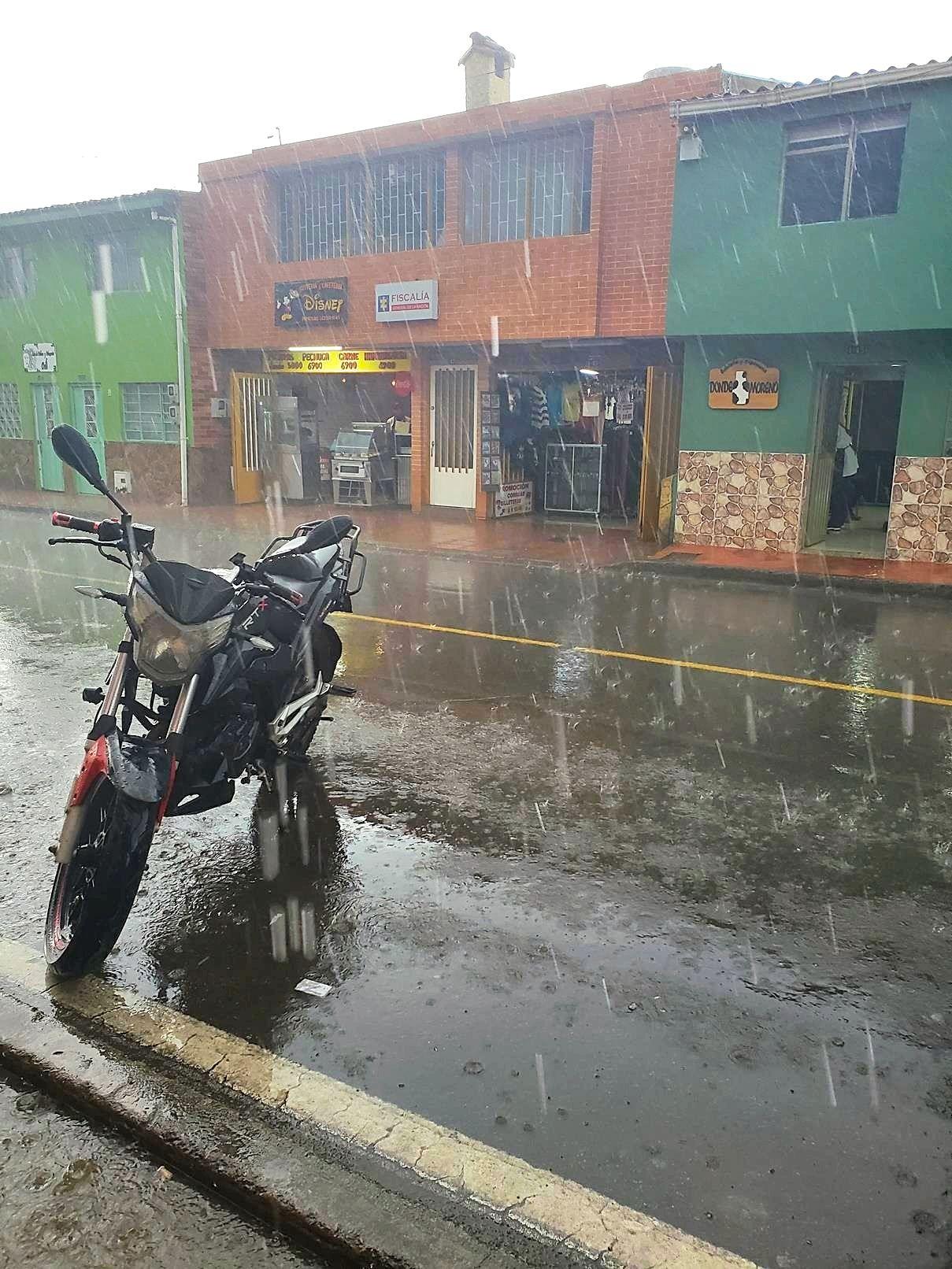 Regenseizoen Colombia