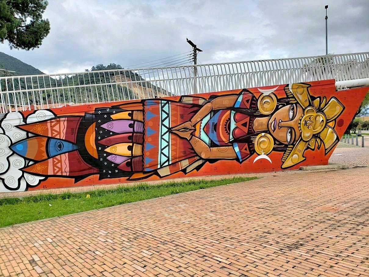 Street art Colombia SopóStreet art Colombia Sopó