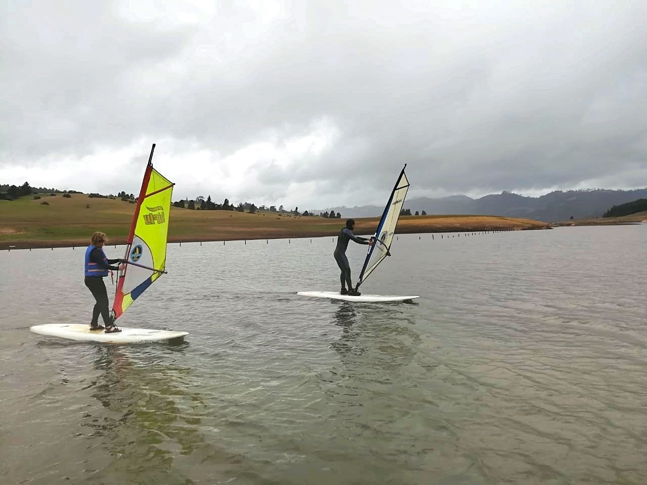 Windsurfen in Colombia