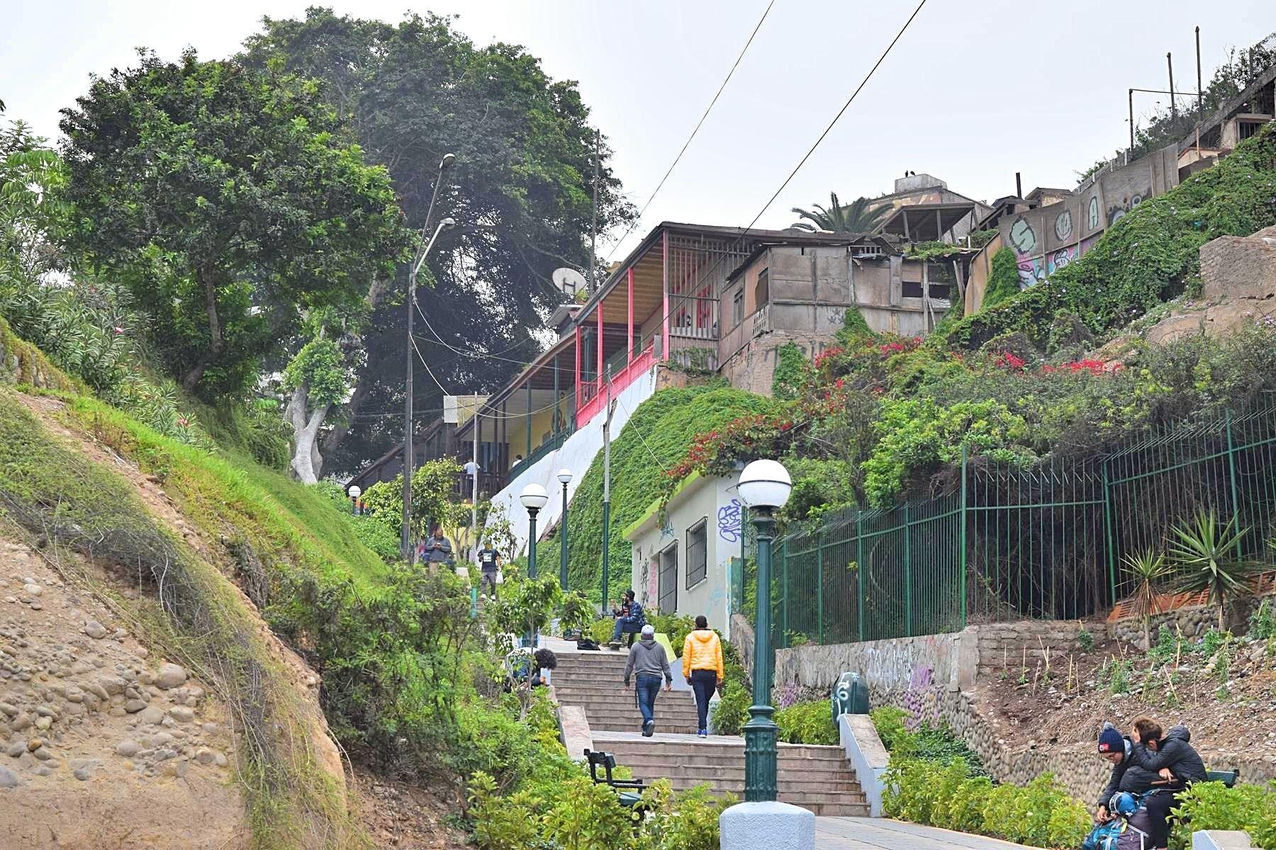 Wijk in Lima Barranco