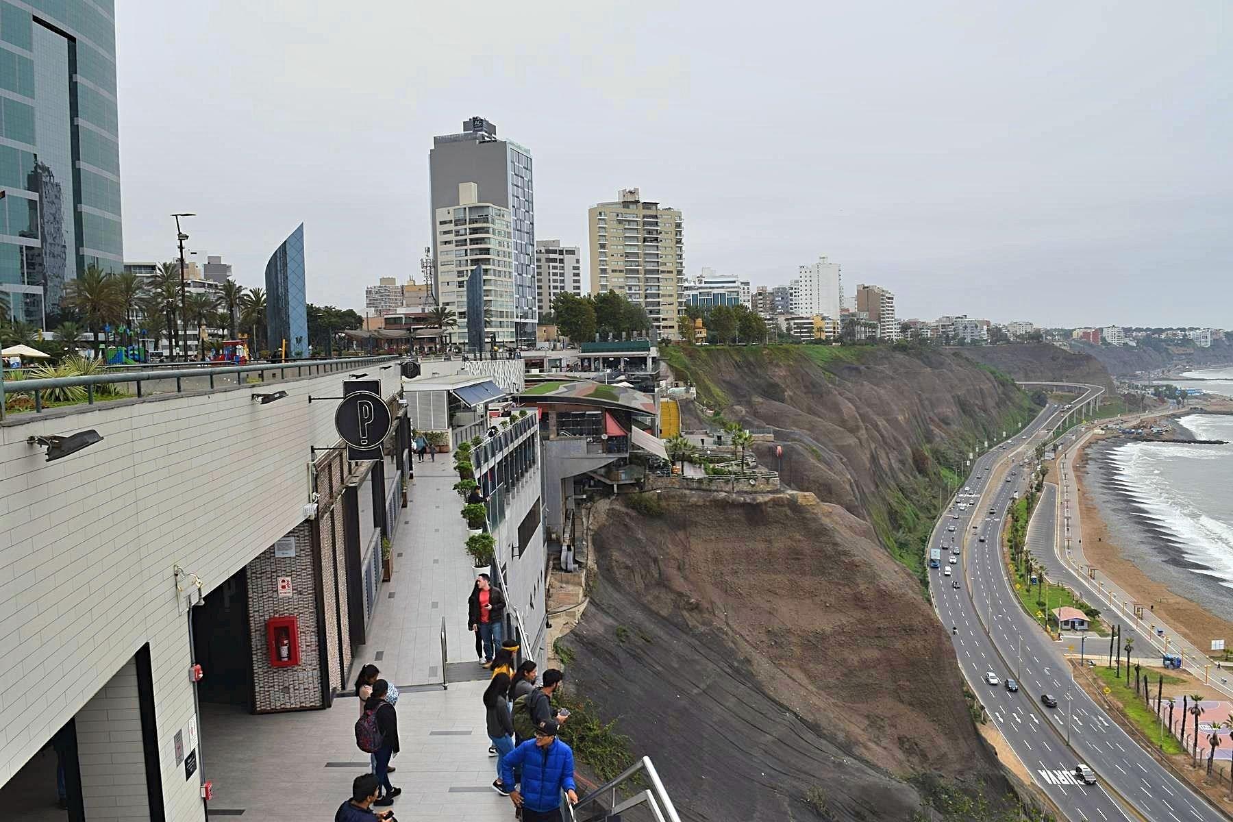 Winkelcentrum Lima LarcoMar Peru