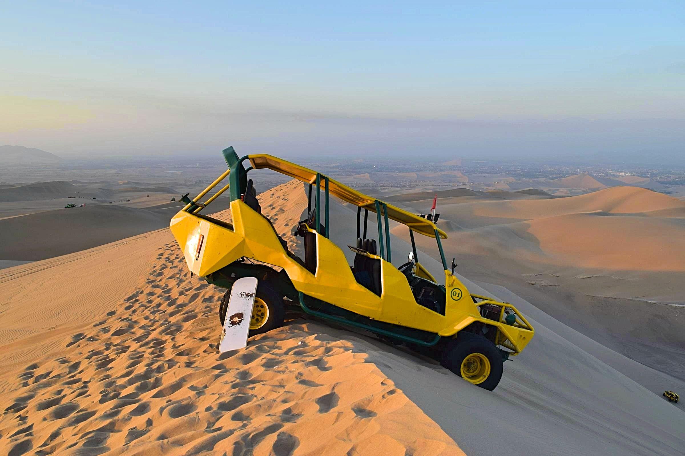 Buggy rijden Huacachina Peru