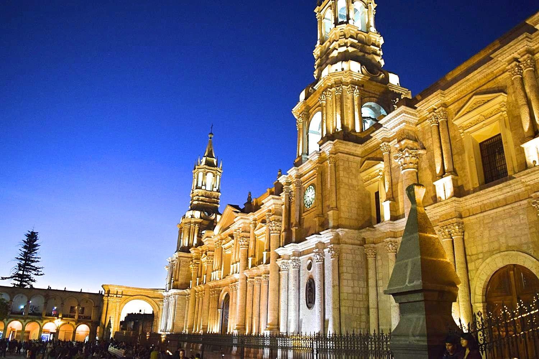 Kathedraal Arequipa Peru