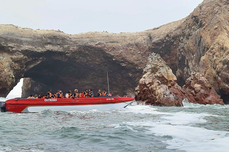 Waarom Islas Ballestas in Peru tegen vielen