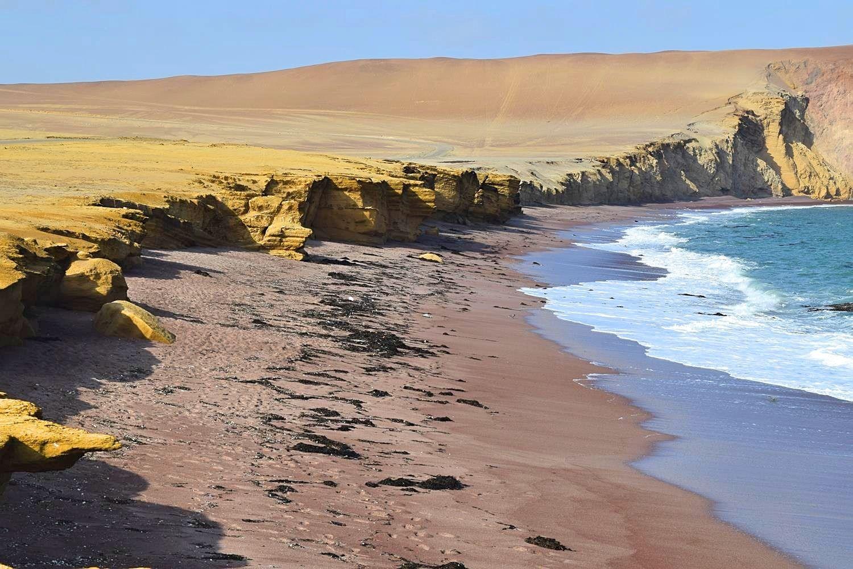 Reizen Peru Paracas woestijn