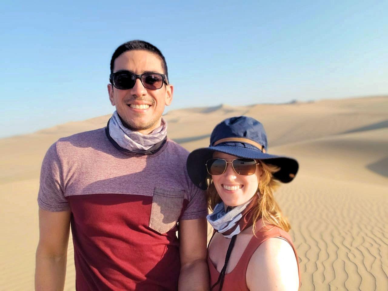 Woestijn Peru