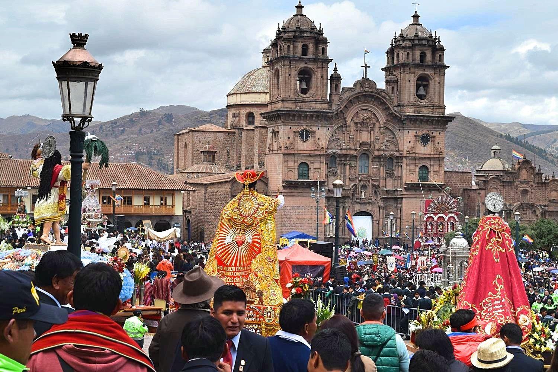 Feestdag Peru Cusco