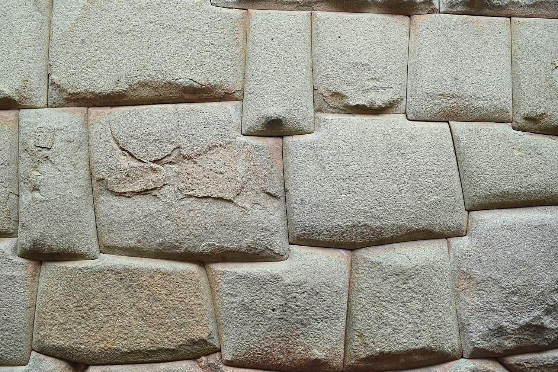 Inca stenen Cusco Peru