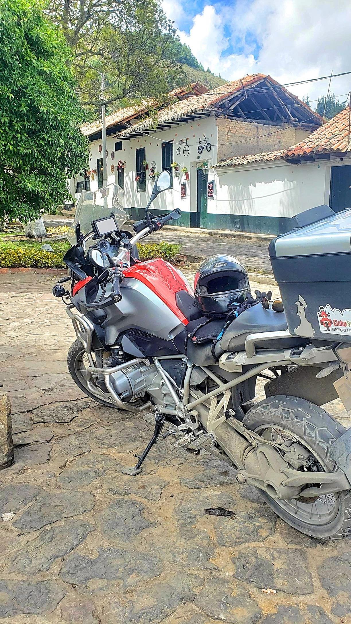 Motor rijden Colombia
