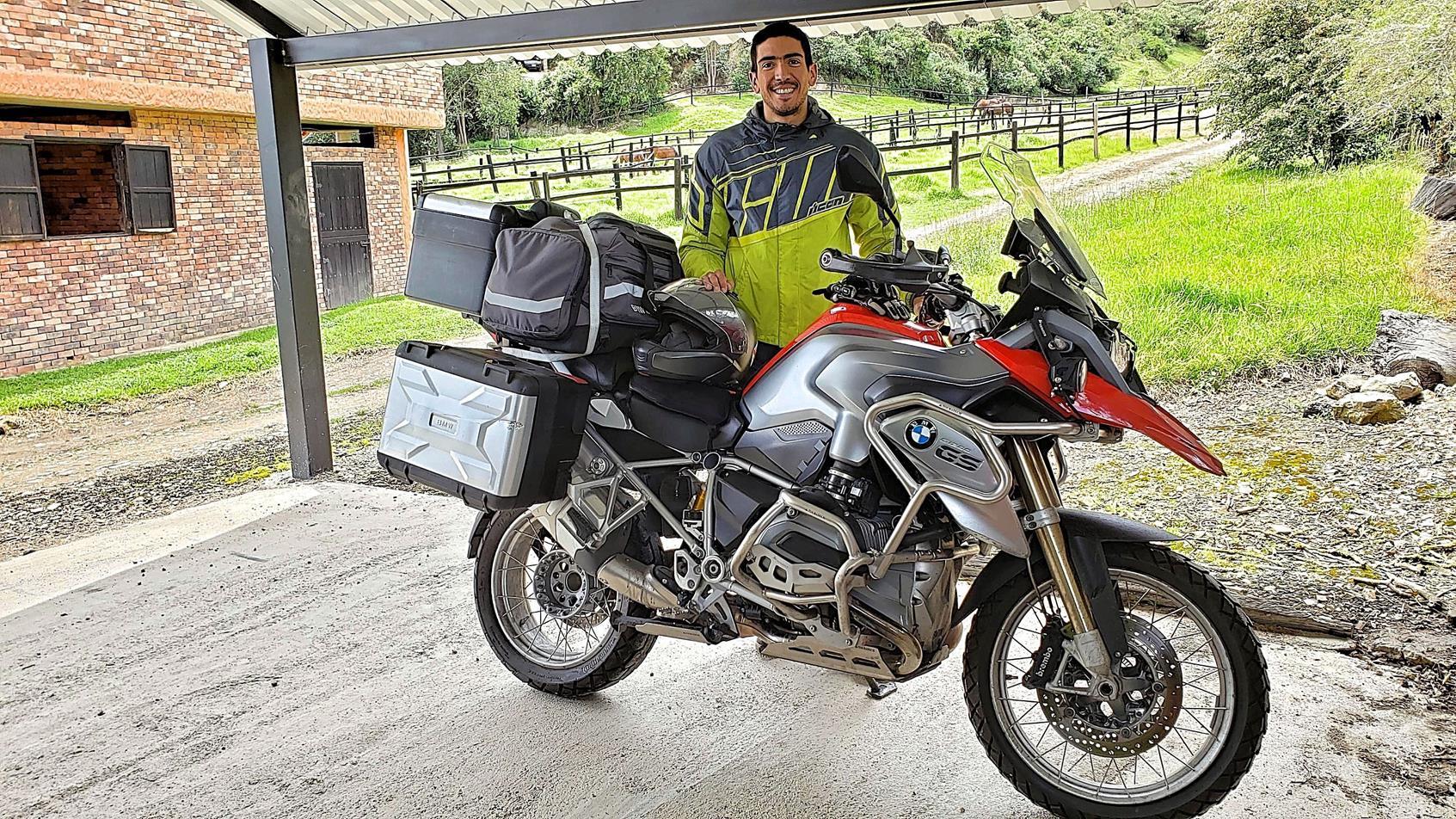 Motorrijden in Colombia BMW