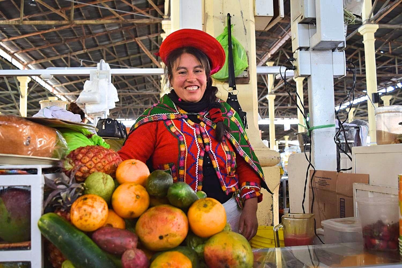 San Pedro markt Cusco Peru
