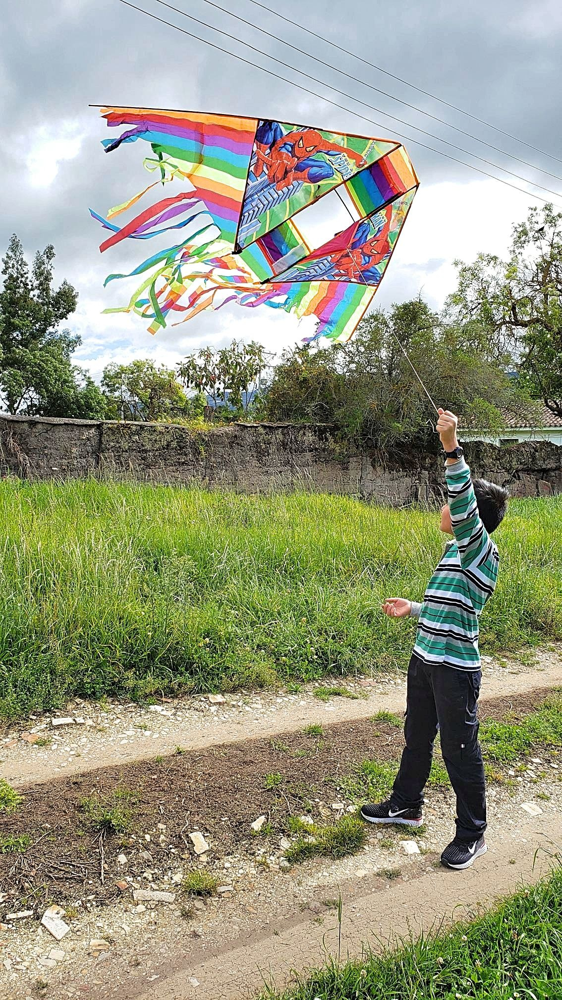 Vliegeren in Colombia