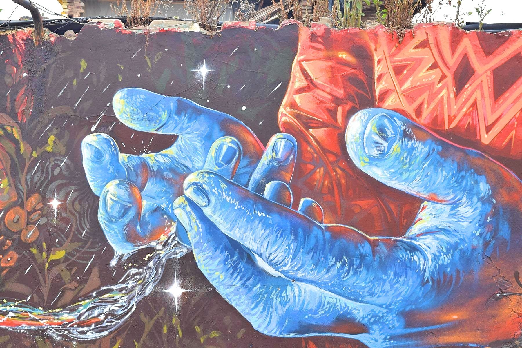 Street art Colombia Sogamoso