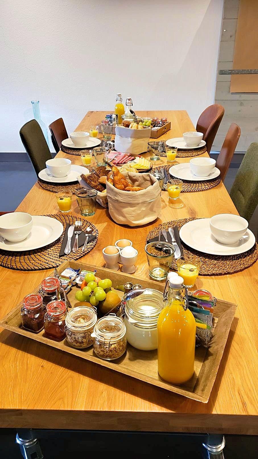 Ontbijten met familie