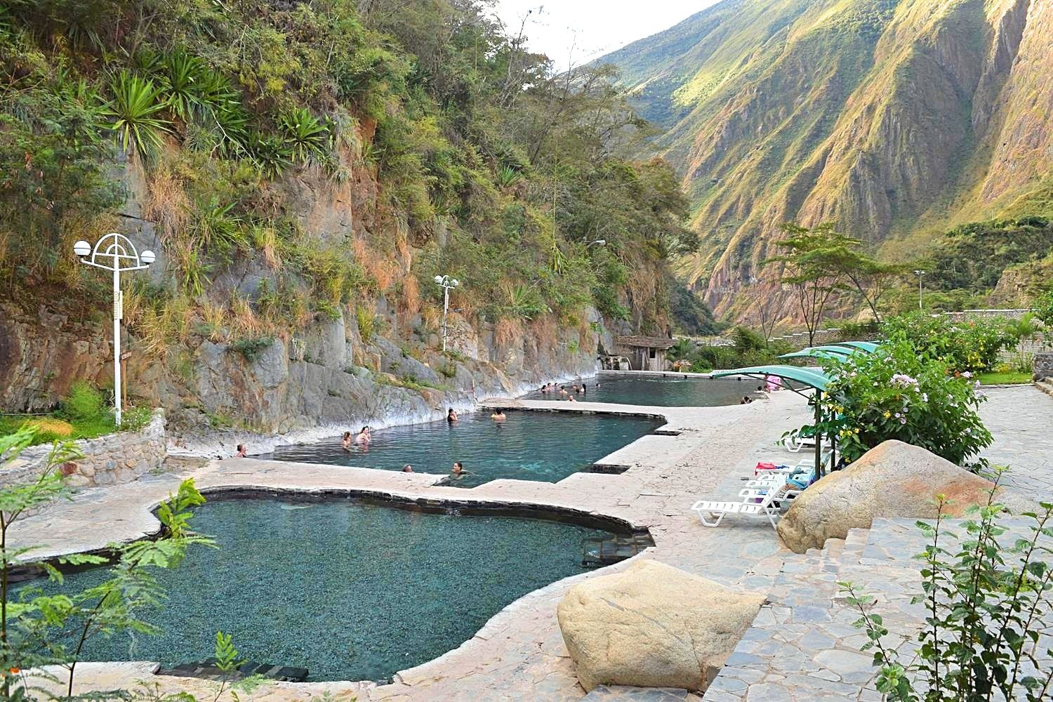 Salkantay Trek hot springs