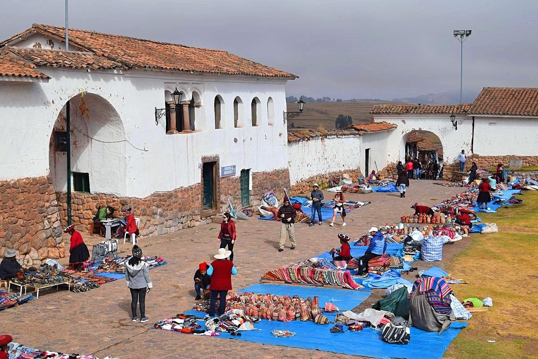 Chinchero omgeving Cusco Peru
