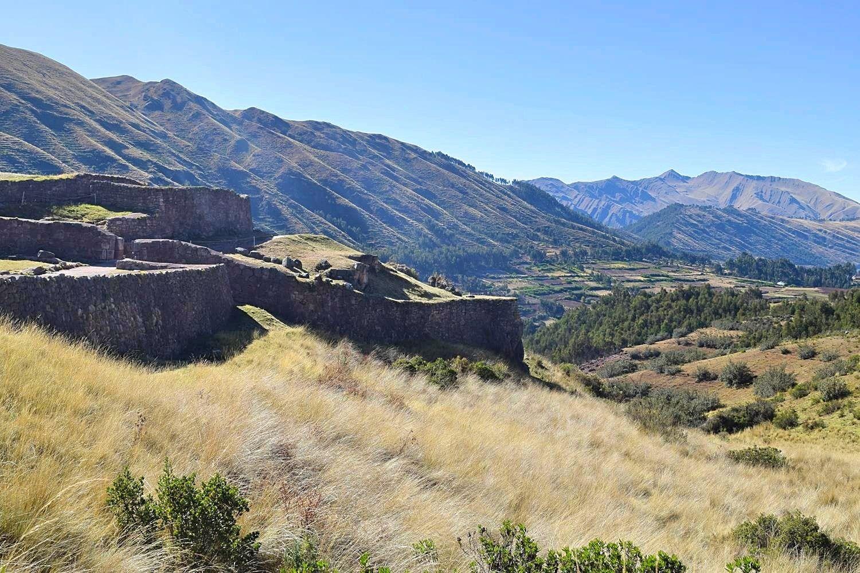 Ruïne Pukapukara Cusco Peru