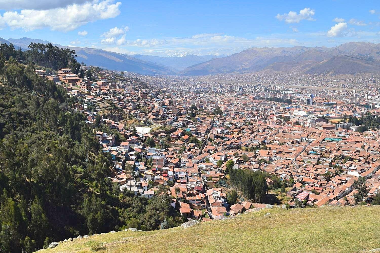 Ruïne Sacsaywamán omgeving van Cusco Peru