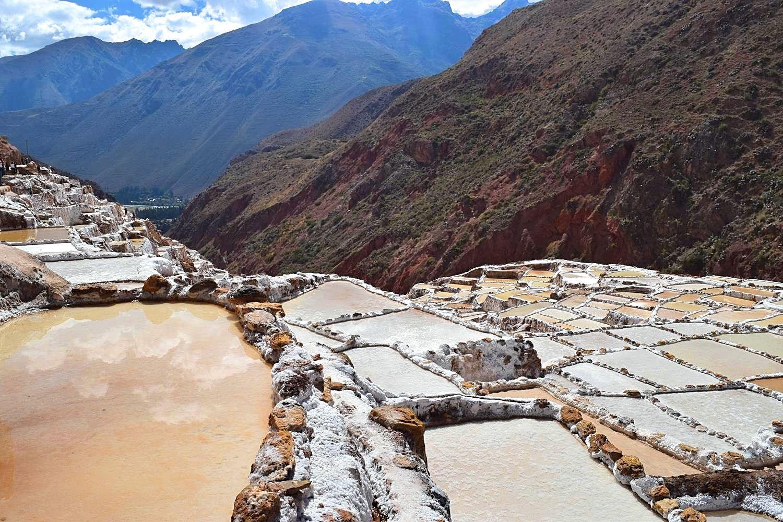 Zoutpannen Maras Cusco Peru