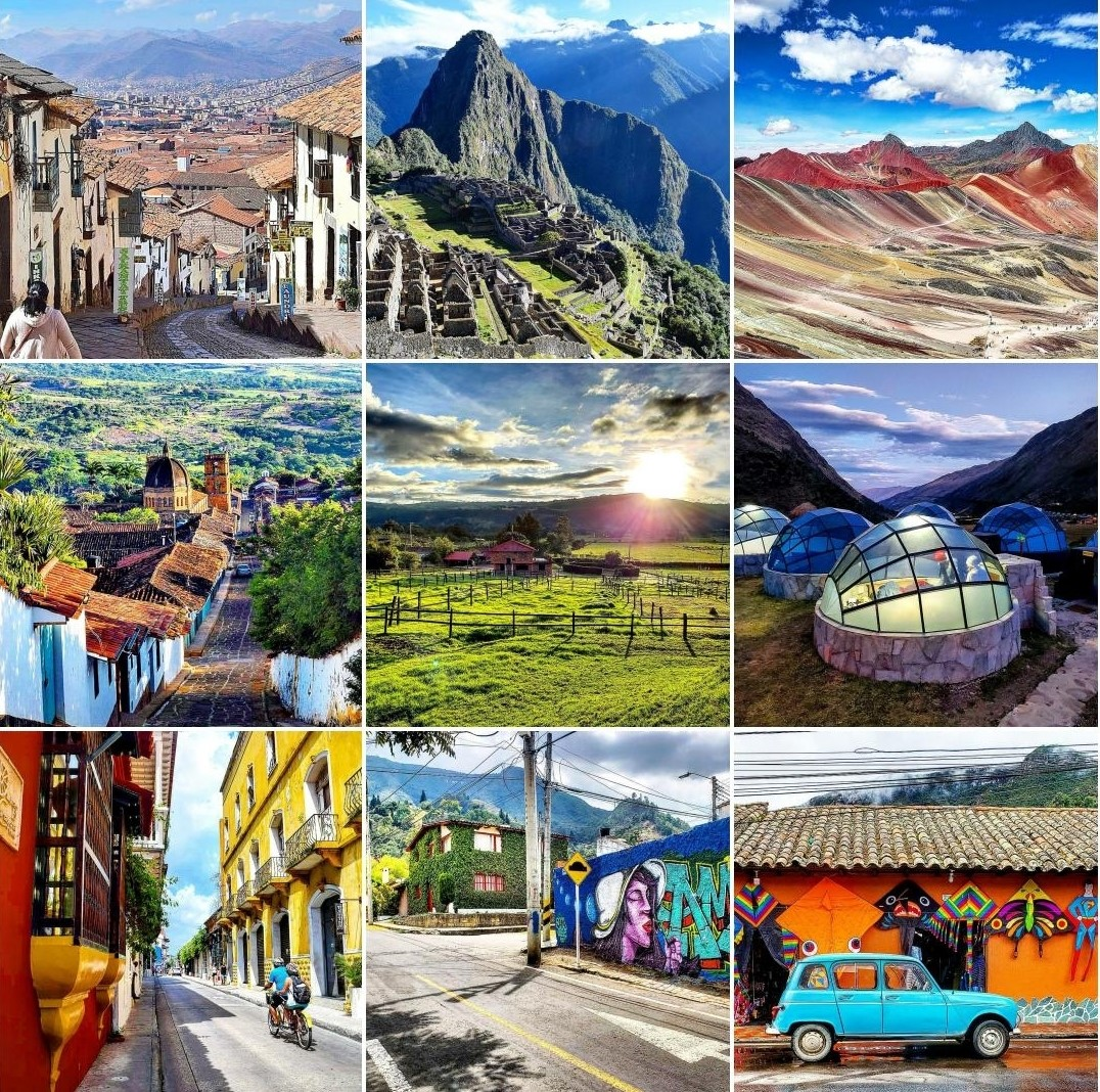 Best 9 Instagram 2019 Colombia Peru