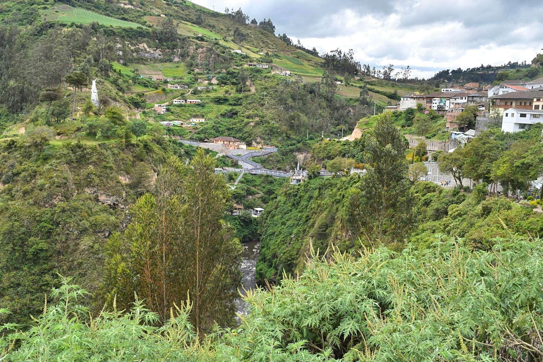 Hoe kom je bij Las Lajas Ipiales in Colombia