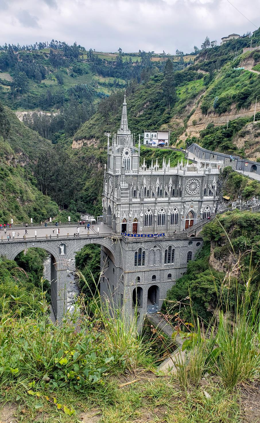 Hoe kom je in Las Lajas Ipiales Colombia