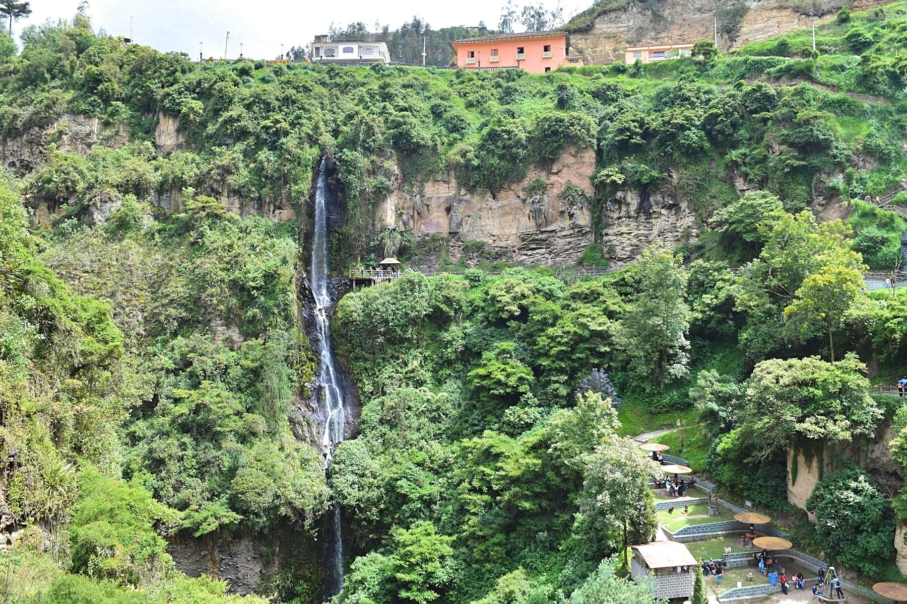 Waterval Colombia Ipiales