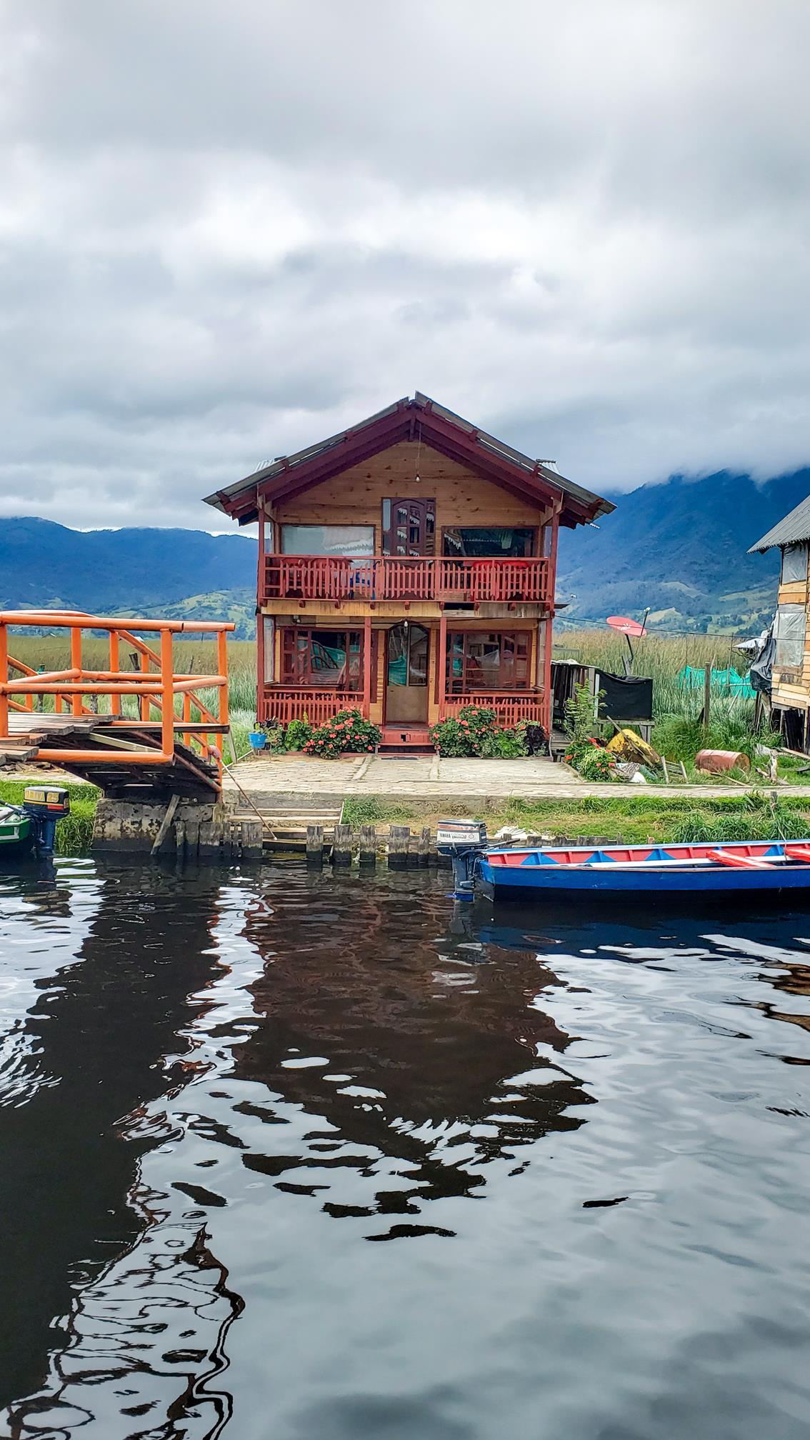 Laguna de La Cocha Colombia