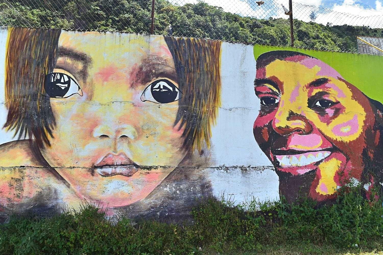 Pasto Sandoná buiten de gebaande paden Colombia street art