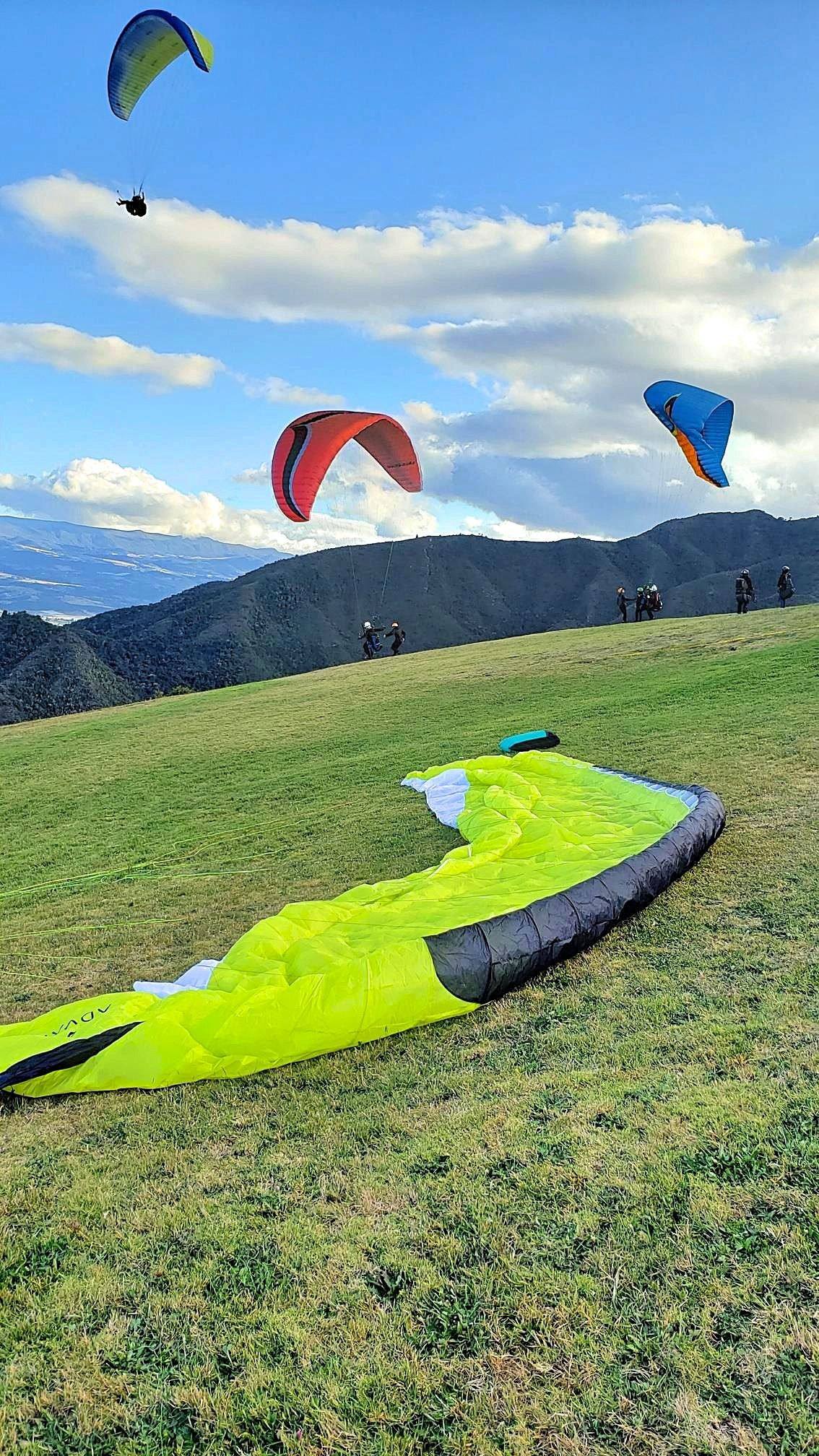 Paragliden Colombia Sopó