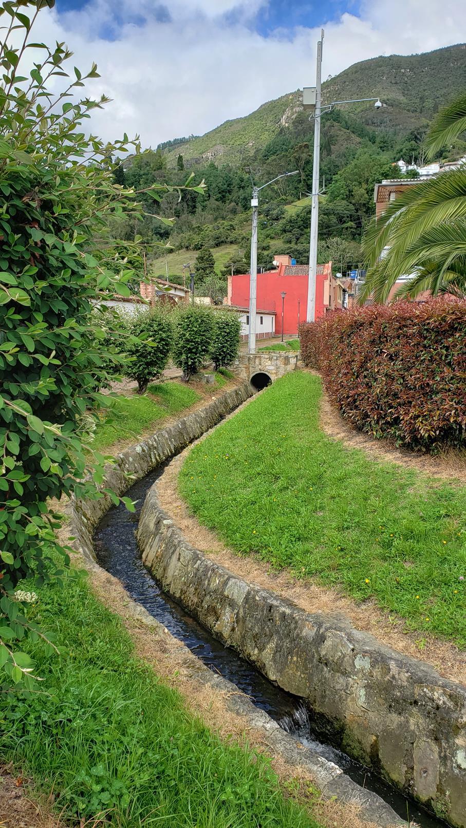 Wandelen tijdens quarantaine Colombia
