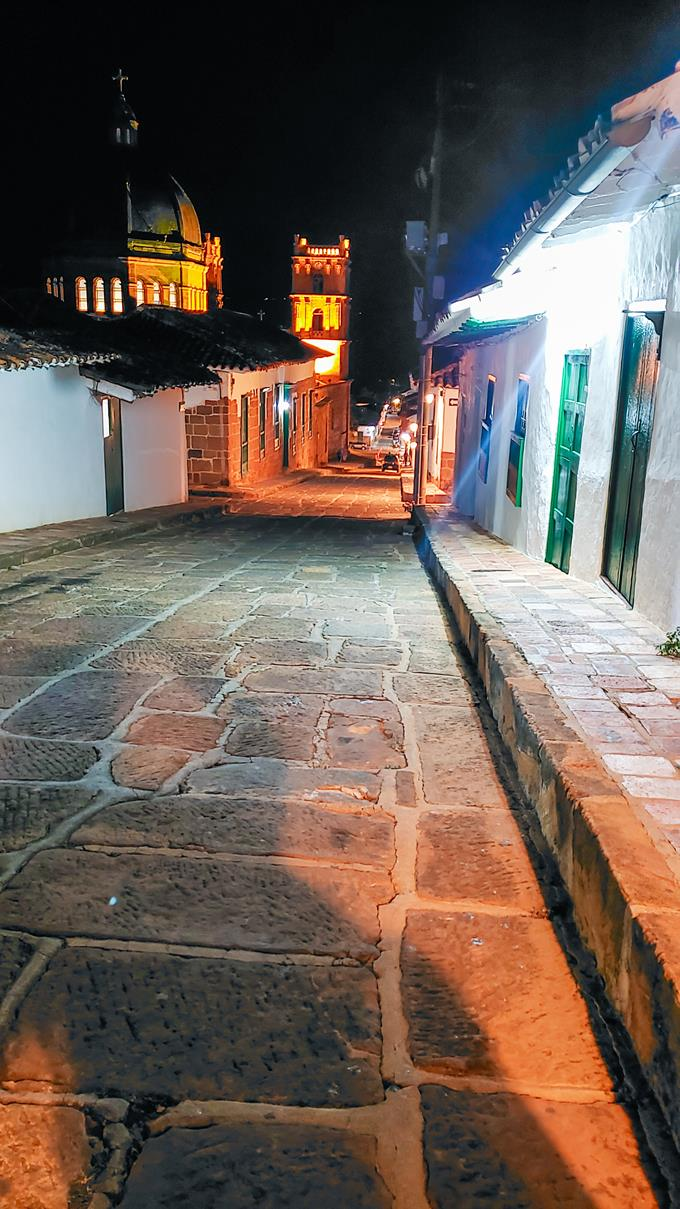 Barichara Colombia nacht