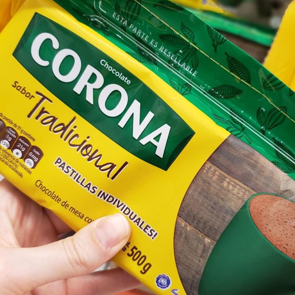 Colombiaanse chocolademelk Corona
