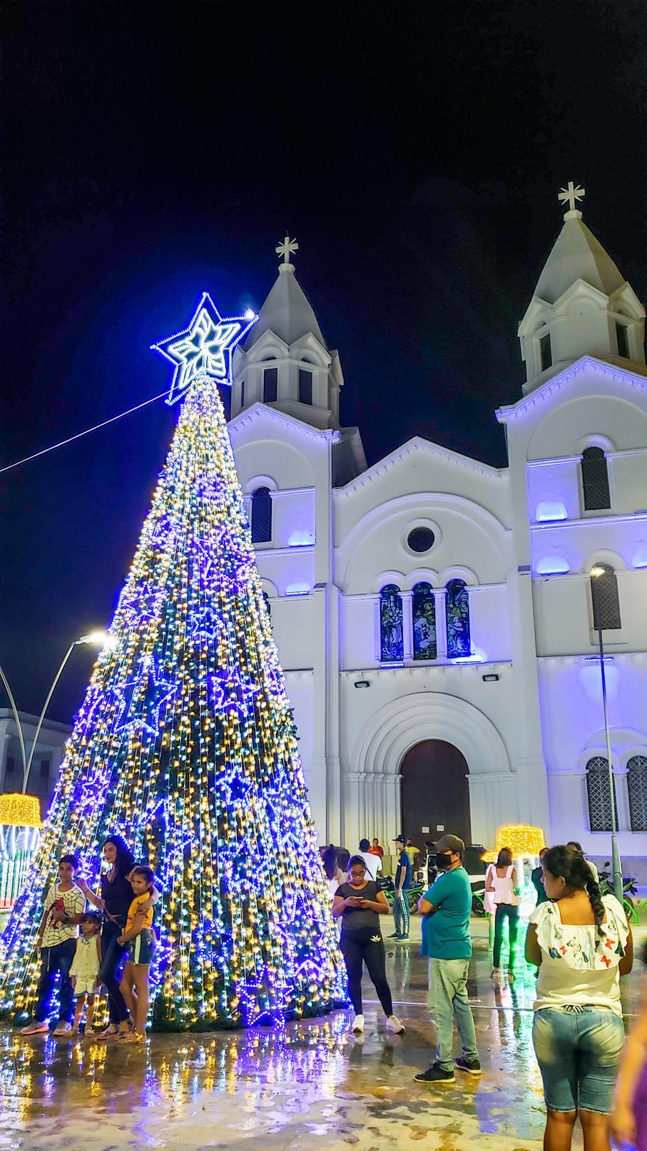 Kerst in Cereté Colombia