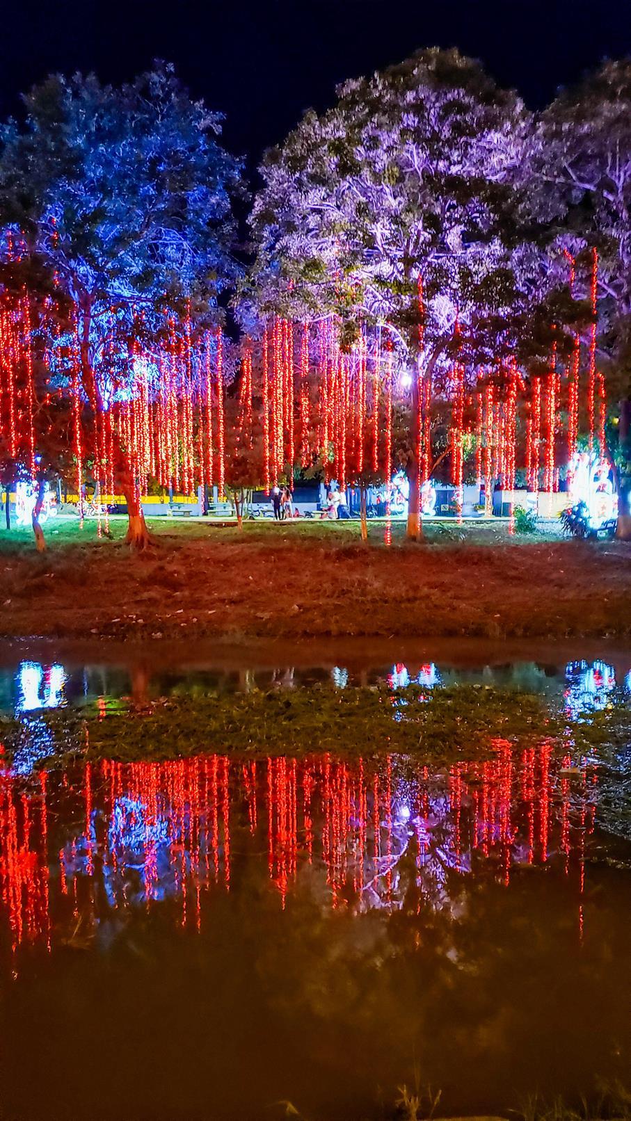 Kerstlichtjes Cereté Colombia
