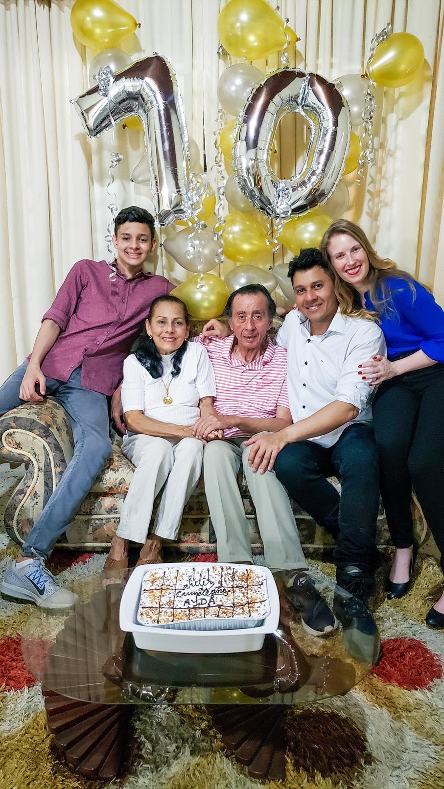 Schoonfamilie Colombia