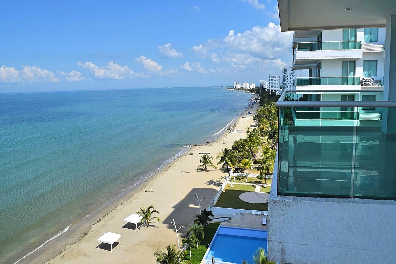 Appartement aan het strand Colombia
