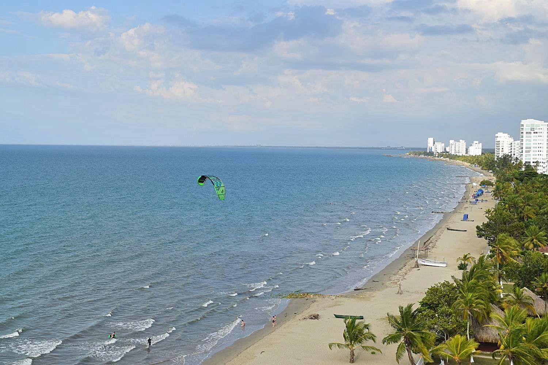 Kitesurfen Colombia Coveñas