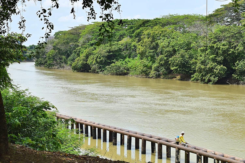 Sinú rivier Colombia