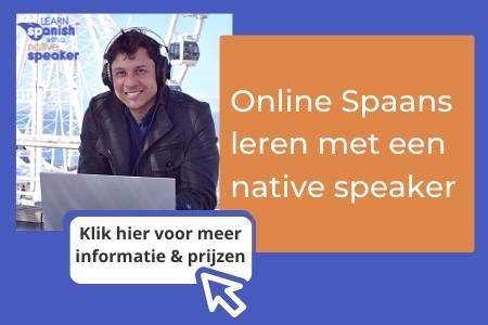 Online Spaans leren met een native speaker