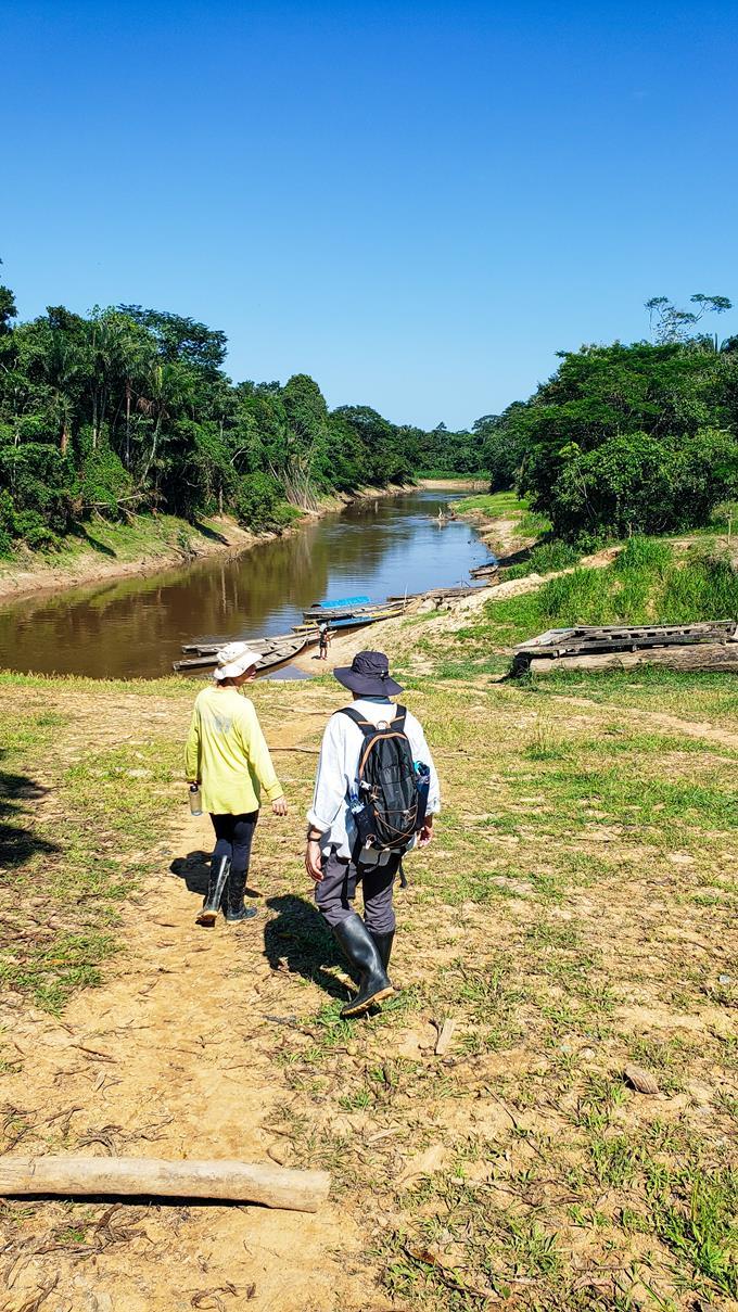 Hiken in de Amazone Colombia